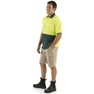 Hi Vis Polo Shirt Safety Workwear