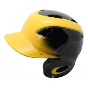 MVP Dial Fit Batting Helmet-Black/Yellow