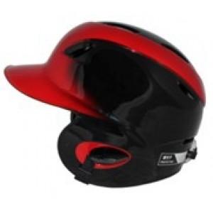 MVP Dial Fit Batting Helmet-Black/Red