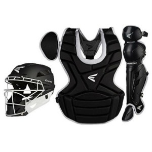 Easton M7 Fastpitch Catchers Gear Set- Female Intermediate-Black