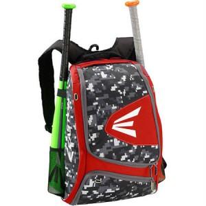 Easton E100XLP Backpack-Red/Camo