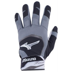 Mizuno Batting Glove Finch Women (Black/White)