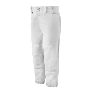Mizuno Womens's Belted Softball And Baseball Pant(White)******