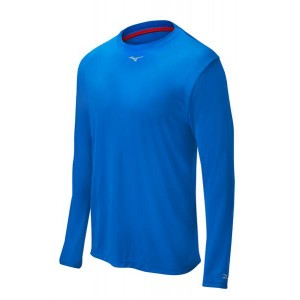 Mizuno Comp Long-Sleeve Crew (Royal)******