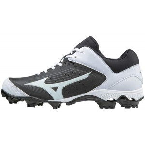 Mizuno Rubber Cleats 9-Spike Advanced Finch Elite3 (Black/White)11******