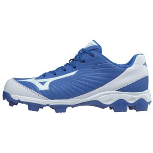 Mizuno Rubber Cleats 9-Spike Advanced Franchise 9 (Royal/White)*****