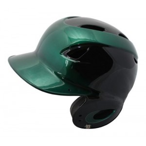 MVP Dial Fit Batting Helmet-Black/Green