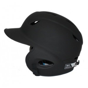 MVP Dial Fit Batting Helmet-Matte Black