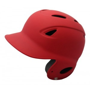 MVP Dial Fit Batting Helmet-Red Matte