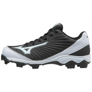 Mizuno 9-Spike Advanced Franchise 9 Youth-Black/White