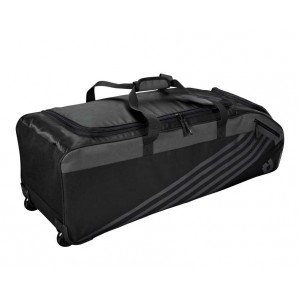 DeMarini Momentum Wheeled Bag 2.0 (Black)