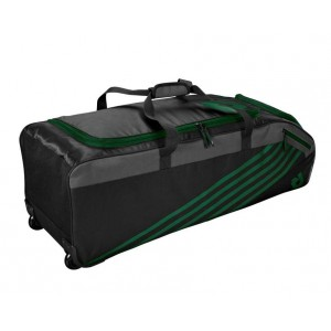 DeMarini Momentum Wheeled Bag 2.0 (Dark Green)