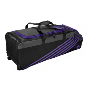 DeMarini Momentum Wheeled Bag 2.0 (Purple)