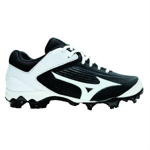 Mizuno 9-Spike Advanced Finch Elite 3-Black/White (Womens)