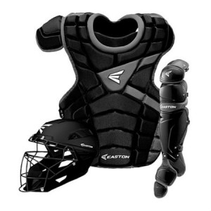 Easton M10 Catchers Gear Set-Adult-Black/Black