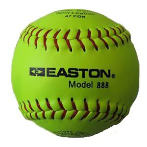 Easton 888 12 inch Softball-Dozen