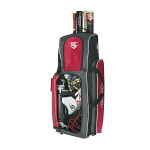 Louisville Slugger BL Series 5 RIG Wheeled Bag Black