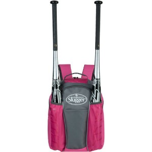 Louisville Slugger EB Series 3 Stick Back Pack Hot Pink
