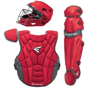 Easton Prowess P2 Women's Box Set-Intermediate-Red/Charcoal