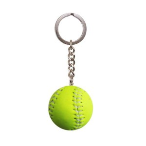 Easton Key Ring  Softball Ball Neon ************